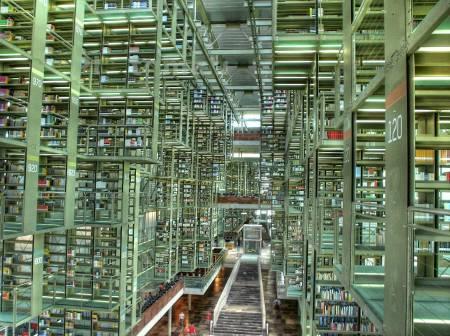 Die José Vasconcelos Bibliothek in Mexico City. (Foto: wikipedia/Eneas De Troya)