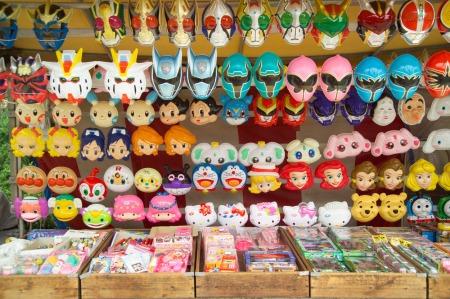 Verschiedene Rollen, verschiedene Masken... (Foto: Wikipedia/Fg2)